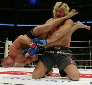 Mixed Martial Arts fight between Fedor Emelianenko and Hong Man Choi
