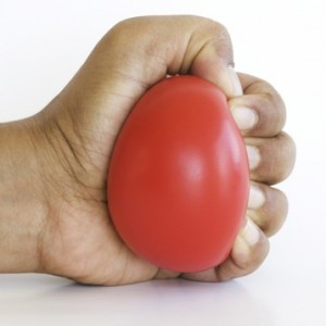 Squeeze Your Martial Arts Stress Ball