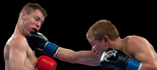 A Training Tip for Keeping Chin Tucked While Boxing
