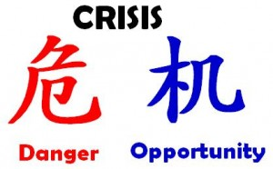 Finding the Opportunity in Each Crisis in the Martial Arts