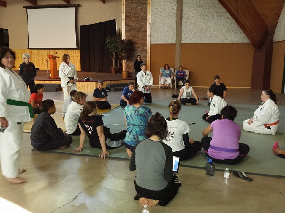 Lori Sensei Teaching at PAWMA