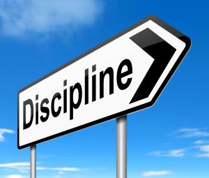 "Discipline is the new ""motivation"""