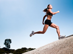 High Intensity Interval Training Hill Running