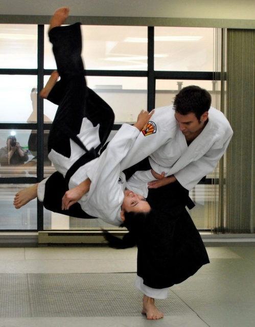 Jiu-jitsu / Judo Throws for Stunt Performers
